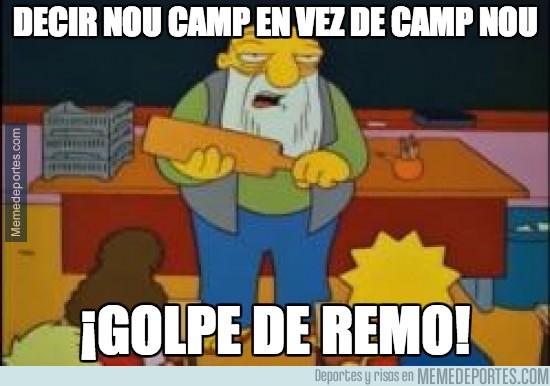 218785 - Decir Nou Camp en vez de Camp Nou