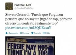 Enlace a Gran ZAS de Gerrard a Ferguson [15 años de su debut]