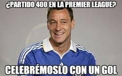 Enlace a ¿Partido 400 en la Premier League?