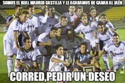 Enlace a Somos el Real Madrid Castilla y le acabamos de ganar al Jaén