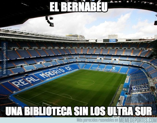 219577 - El Bernabéu parece una biblioteca