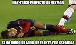 Enlace a Hattrick perfecto de Neymar