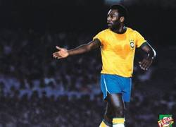 Enlace a Pelé realmente sentía los colores de la Verdeamarela