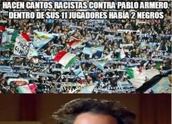 Enlace a Hacen cantos racistas contra Pablo Armero