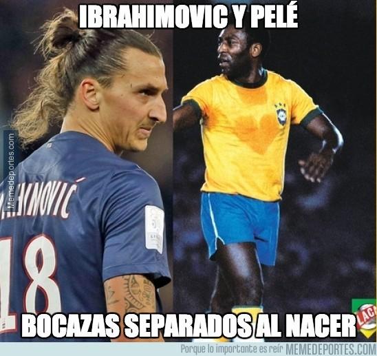 220786 - Ibrahimovic y Pelé