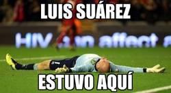 Enlace a Luis Suárez estuvo aquí