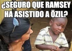 Enlace a ¿Seguro que Ramsey ha asistido a Özil?