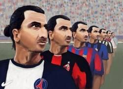 Enlace a La carrera de Ibrahimovic en una sola imagen