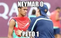 Enlace a Neymar 0 - Peto 1