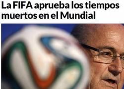 Enlace a Blatter la vuelve a liar.. ¿o no?