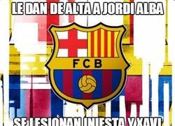 Enlace a Le dan de alta a Jordi Alba