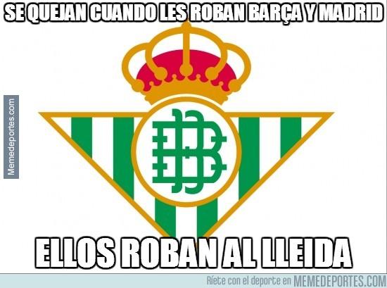 221922 - Se quejan cuando les roban Barça y Madrid