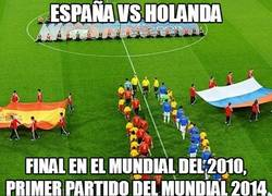 Enlace a España Vs Holanda ¿Déjà vu?