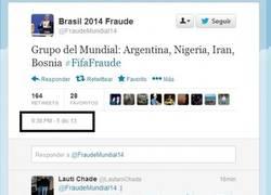 Enlace a Una cuenta de Twitter sabía cómo iba ser el grupo de Argentina