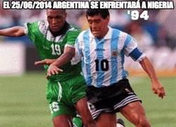 Enlace a El 25/06/2014 Argentina se enfrentará a Nigeria