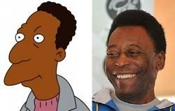 Enlace a Carl y Pelé, parecidos razonables