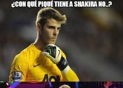 Enlace a De Gea también tiene a su Shakira fake, ¿con cuál te quedas?