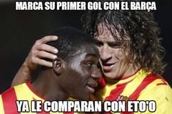 Enlace a Marca su primer gol con el Barça