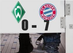 Enlace a Werder Bremen-Bayern Munich, descripción gráfica