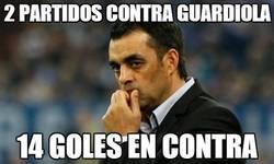 Enlace a 2 partidos contra Guardiola