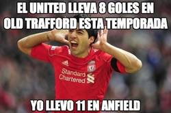 Enlace a El United lleva 8 goles en Old Trafford esta temporada