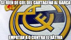 Enlace a Se ríen de gol del Cartagena al Barça