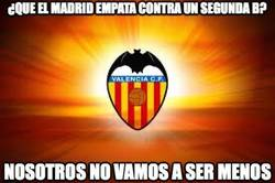 Enlace a ¿Que el Madrid empata contra un segunda B?