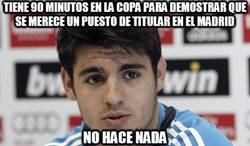 Enlace a Tiene 90 minutos en la Copa para demostrar que se merece un puesto de titular en el Madrid