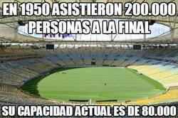 Enlace a En 1950 asistieron 200.000 personas a la final