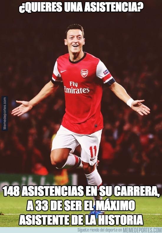 224318 - ¿Existe mejor asistente que Özil?