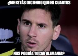 Enlace a Messi ha caído ahora en eso