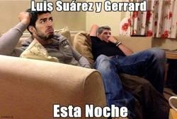 Enlace a Luis Suárez y Gerrard esta noche