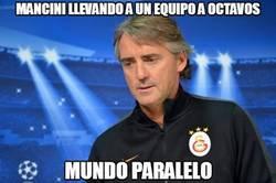 Enlace a Mancini llevando a un equipo a octavos