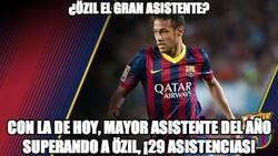 Enlace a El rey de las asistencias no es Özil, es Neymar