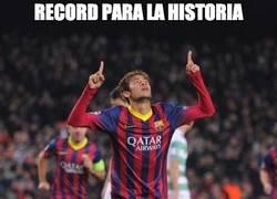 Enlace a Neymar, hat-trick y récord
