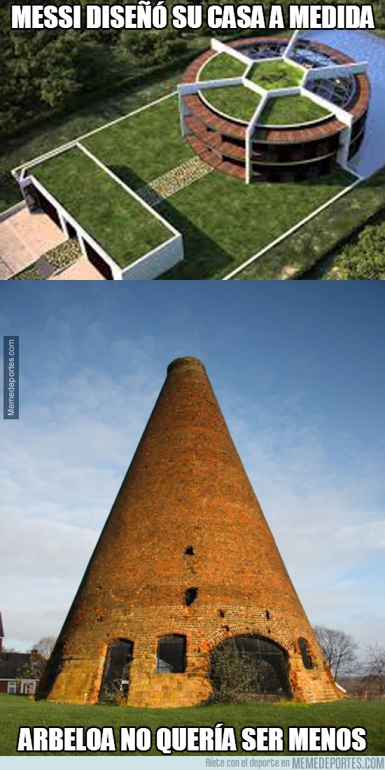 226450 - Messi diseñó su casa a medida