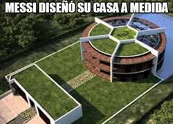 Enlace a Messi diseñó su casa a medida