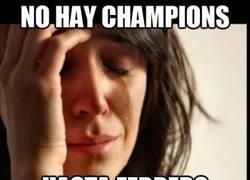 Enlace a Ahora sí que sí, se acabó la Champions hasta 2014