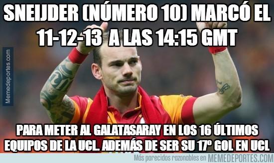 226535 - Sneijder y la profecía numérica