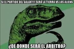 Enlace a Si el partido del Galaxy11 será la tierra vs los aliens