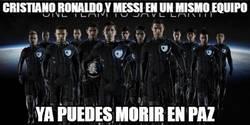 Enlace a Cristiano Ronaldo y Messi en un mismo equipo