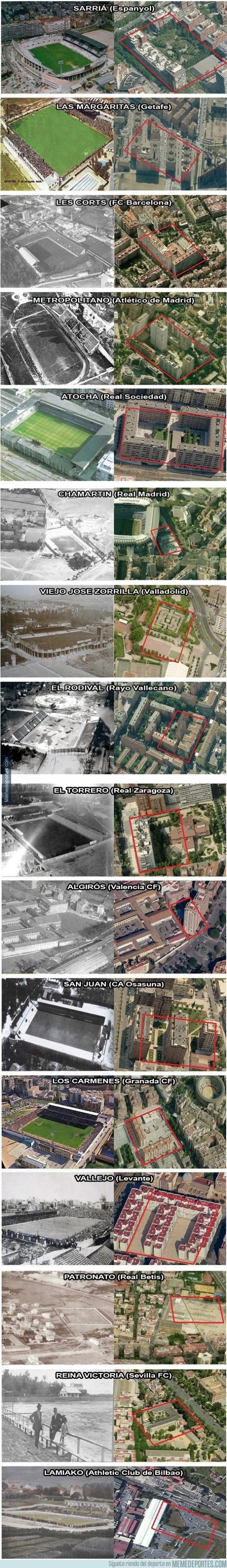 227222 - Los míticos estadios españoles, ayer y hoy - Parte I y II. (Por @mistergrobe)