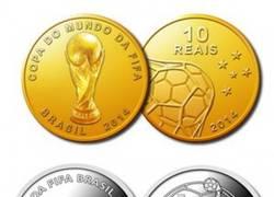 Enlace a El Banco Central de Brasil hará monedas conmemorativas del Mundial ¡Shut up and take my money!
