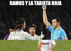 Enlace a Ramos y la tarjeta roja