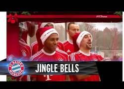 Enlace a VÍDEO: El Bayern de Munich se viste de Navidad