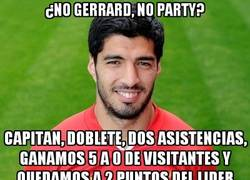 Enlace a ¿No Gerrard, no party?