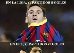 Enlace a Luis Suárez vs Messi