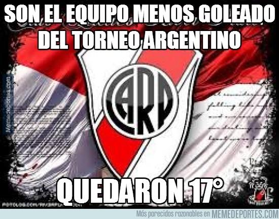 228883 - Son el equipo menos goleado del torneo argentino