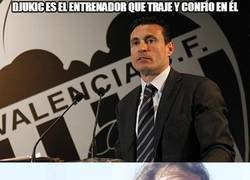 Enlace a Djukic es destituído como entrenador del Valencia