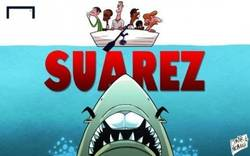 Enlace a Suárez hundiendo al Tottenham
